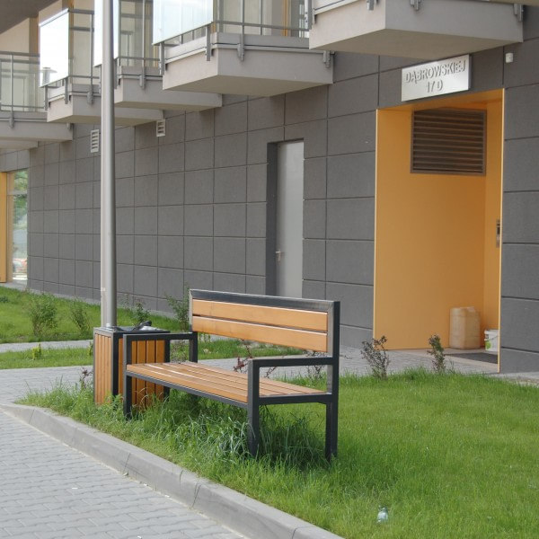 lawki parkowe Modern