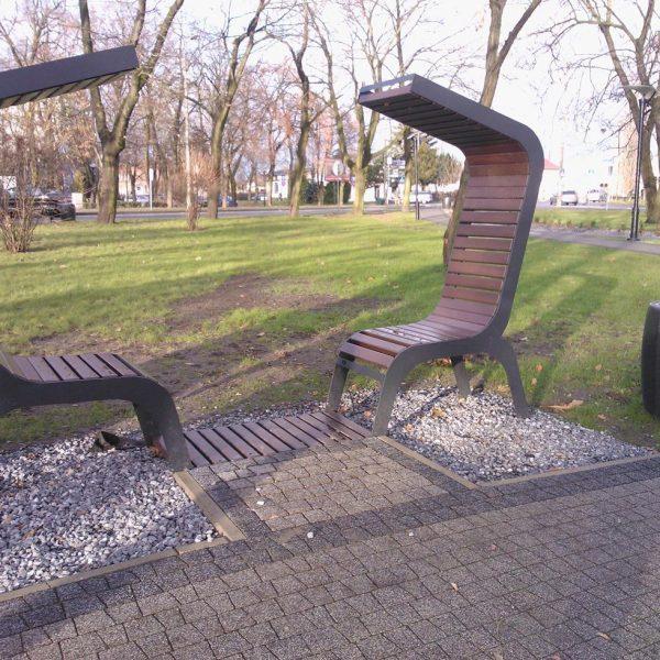 ławki parkowe Trento