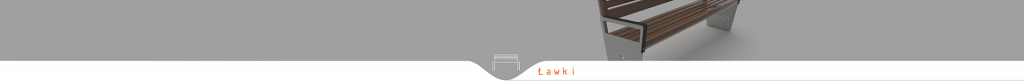 Ławki parkowe ze stali nierdzewnej Trento 0156SN