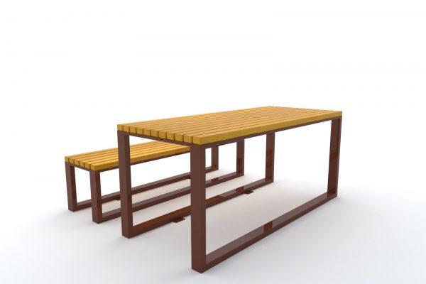 stół ławka caspe 2