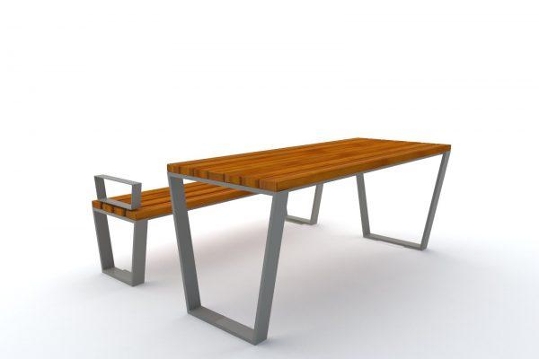 stół ławka novara 1