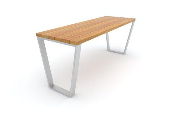 stol parkowy novara 1106 silver