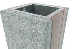 Kosze betonowe na śmieci