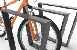 Stojaki rowerowe lakierowane
