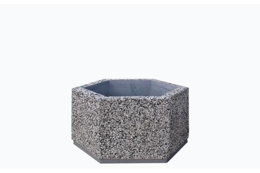 donice betonowe szesciokatne