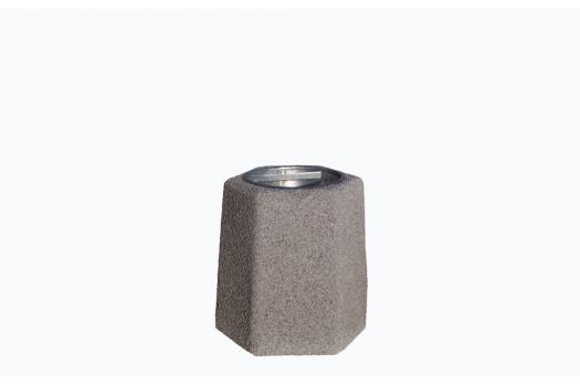 kosze betonowe szesciokatne