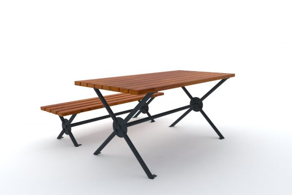 ławka stół barcelona 2