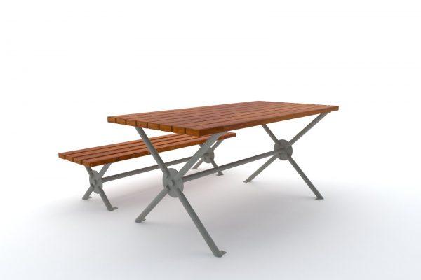 ławka stół barcelona 3