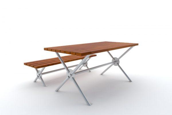 ławka stół barcelona