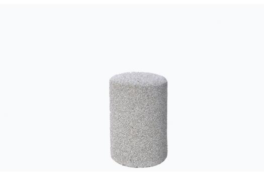slupki betonowe okragle
