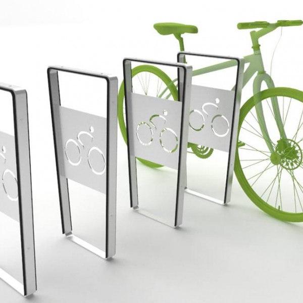 stojaki rowerowe ze stali nierdzewnej Loara