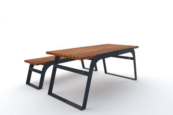 stół ławka trento 2