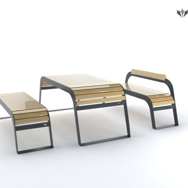 stoły-miejskie-ławki-parkowe-Trento