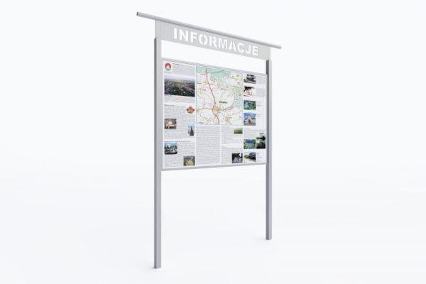 tablice informacyjne ze stali nierdzewnej jumat