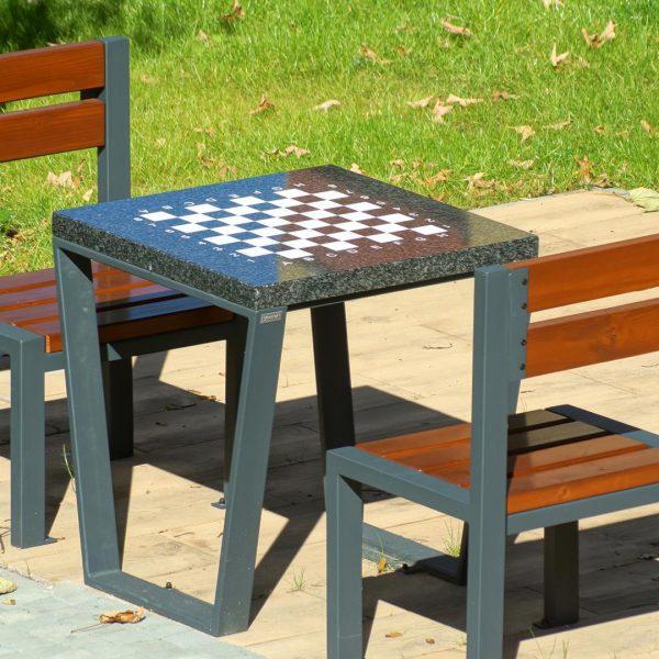 stoły miejskie do gry w szachy