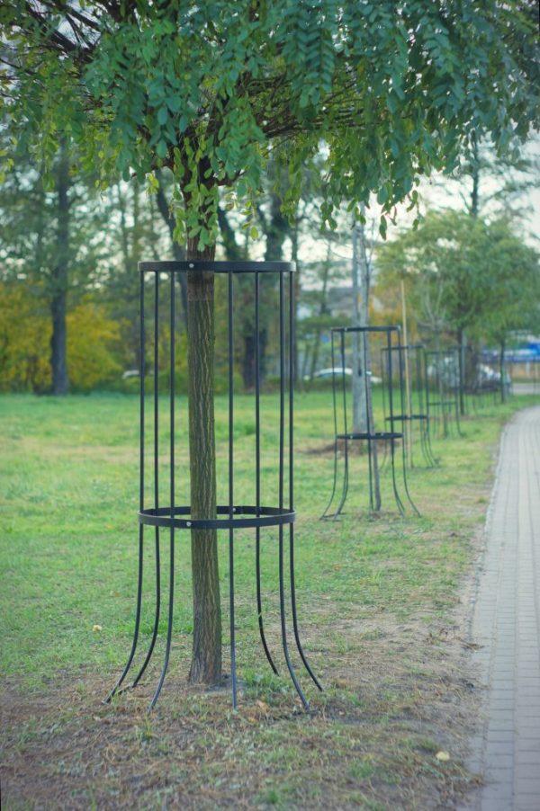 pionowe osłony drzew jumat