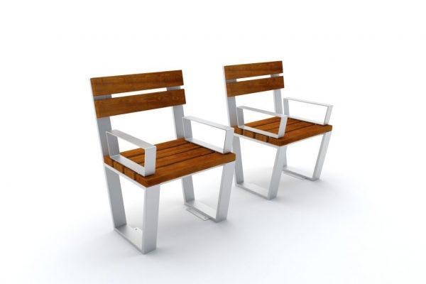Krzesło parkowe Novara 1419 A
