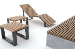 Leżaki i siedziska